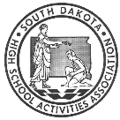 South Dakota High School Activities Association logo