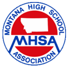 Montana High School Association logo