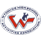 Wyoming High School Activities Association logo